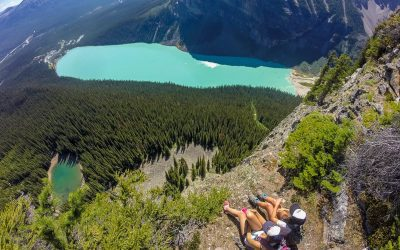 A Quick Hike up the 'Big Beehive in Lake Louise