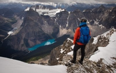 The Mount Temple Hike in Banff National Park