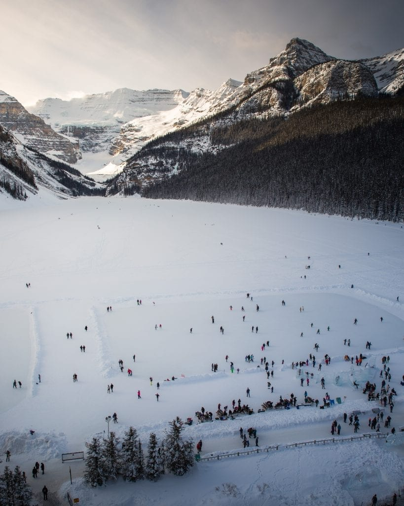 Lake Louise Ice Skating