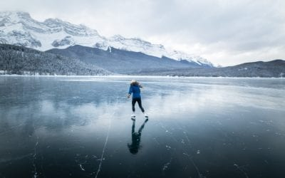 11 of the best places to go Ice Skating in Banff